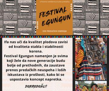 Festival Egungun u Novom Sadu
